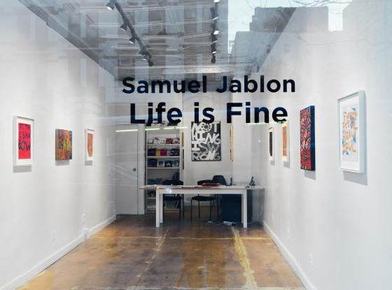 Samuel Jablon on ArtDaily News