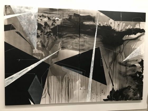 Torkwase Dyson 'Between The Waters' at The Whitney Museum