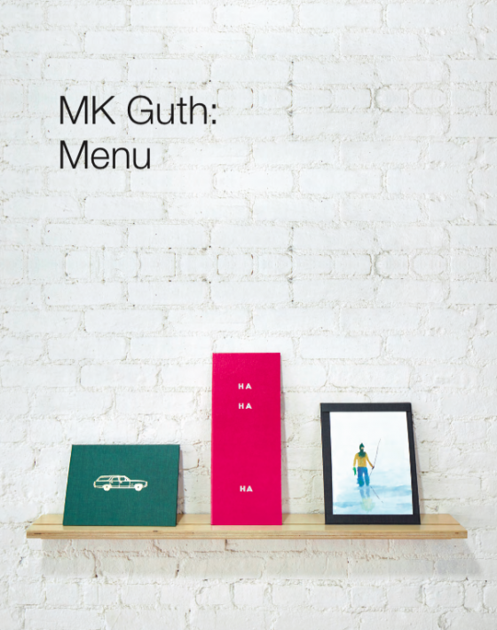Digital Catalog | MK Guth: Menu