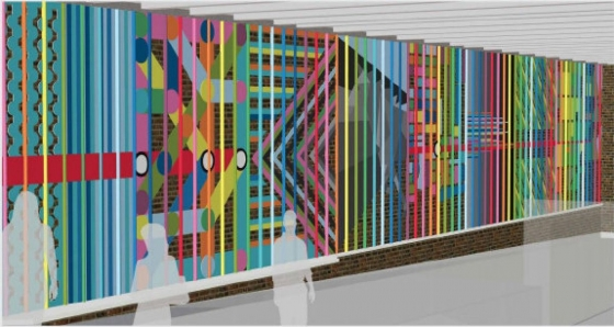 Coloured canopy and street style portraits among the artworks coming to eight TTC subway stations