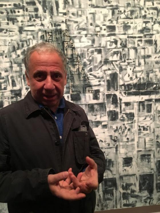 """Entrevista a Jorge Tacla: """"El arte es de los pocos espacios que quedan en los que se puede hablar libremente"""""""