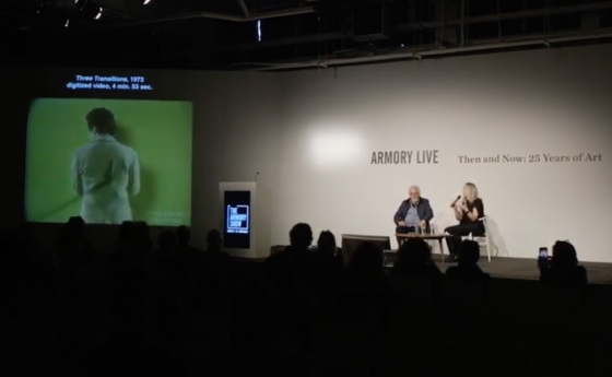 Video | In Conversation: peter campus and Dr. Tina Rivers Ryan at Armory Live