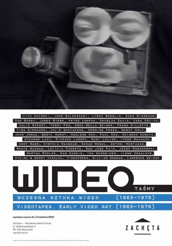 Press Release | Videotapes: Early Video Art (1965-1976) featuring peter campus