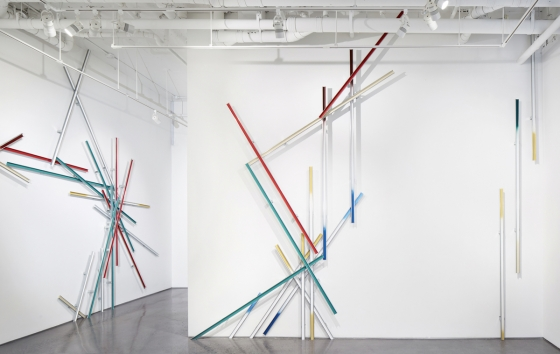 Using Construction Materials, Sculptor Richard Galpin Explores Urban Development