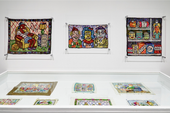 Roz Chast at SVA Chelsea Gallery