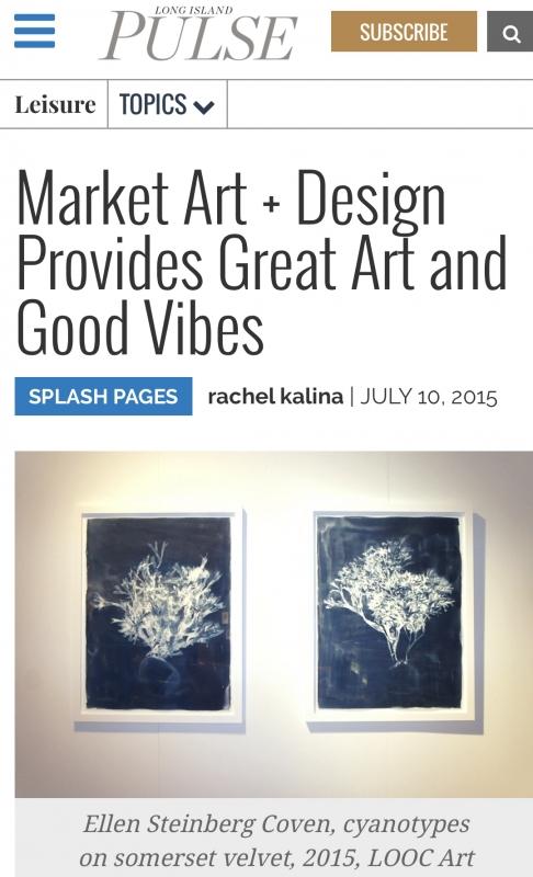 Ellen Steinberg Coven at Market Art + Design