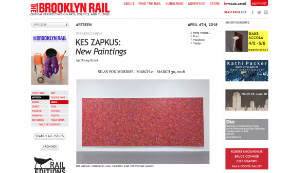 KES ZAPKUS: NEW PAINTINGS