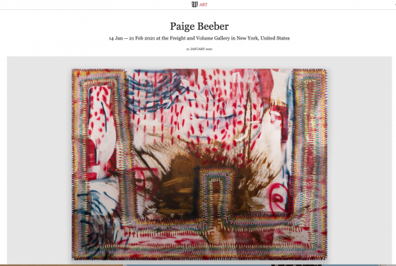 Paige Beeber @ Freight+Volume