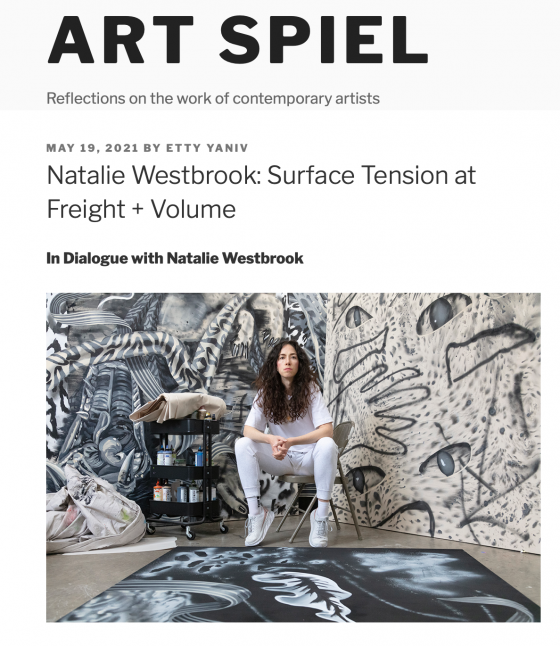 Natalie Westbrook: Surface Tension at Freight + Volume