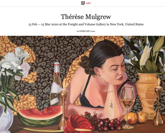 Thérèse Mulgrew Featured in Wall Street International Magazine