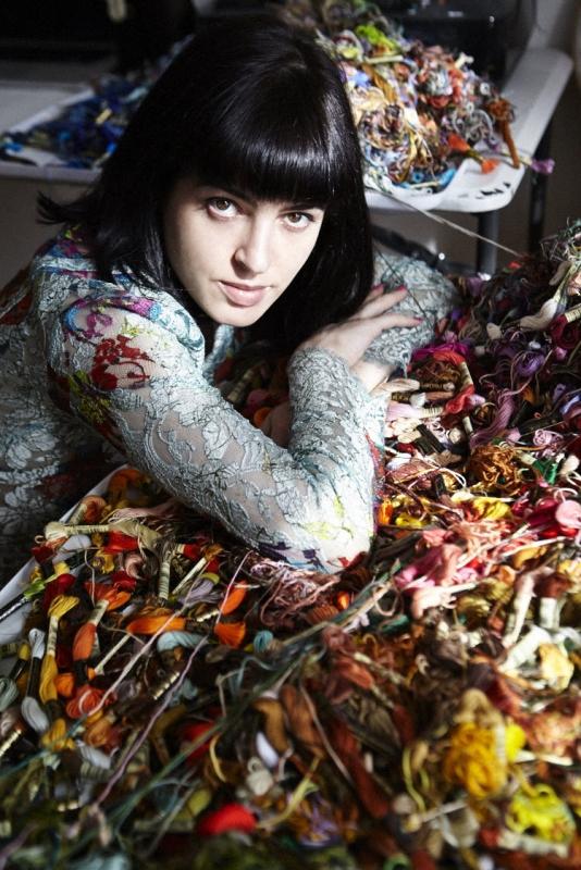 Sophia Narrett in Grazia Magazine