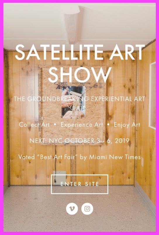 Lance Rautzhan at Satellite Art Fair