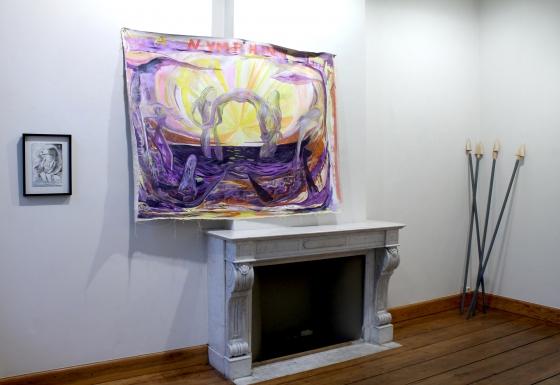 Max Razdow exhibits at Galerie Jan Dhaese in Gent, Belgium