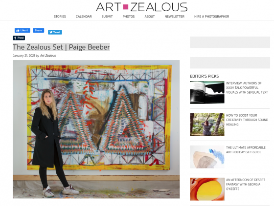 The Zealous Set | Paige Beeber