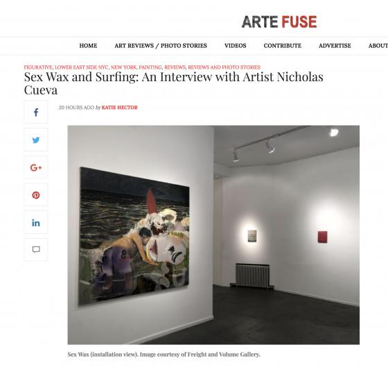 "Arte Fuse features ""Sex Wax"""