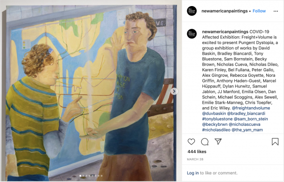 """Pungent Dystopia Featured by New American Paintings """"Exhibitions Affected by Covid-19"""""""