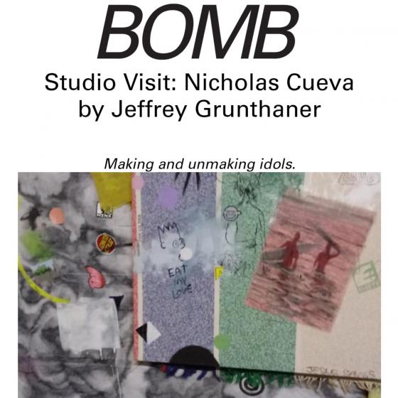 Nicholas Cueva Interview with BOMB
