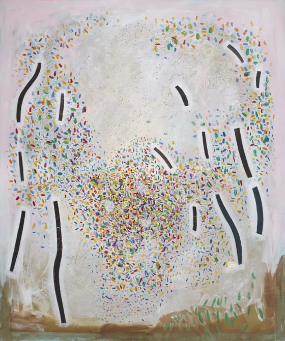 "Jennifer Coates ""Correspondences"" reviewed on Two Coats of Paint"