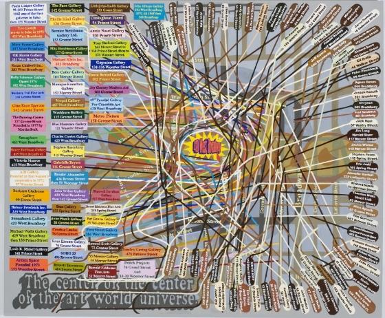 New York's Art History: An Interactive Map, Help Made by Loren Munk: