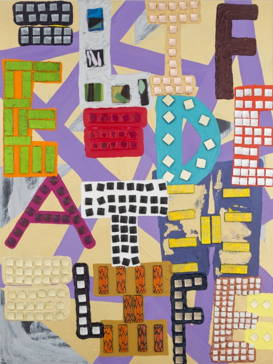 """Samuel Jablon's """"Word:Play"""" featured in Artsy Editorial"""