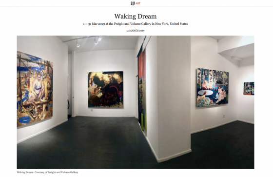 """Waking Dream"" featured in Wall Street International"