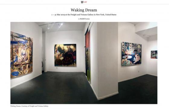 """Waking Dream"" featured in Wall Street International"
