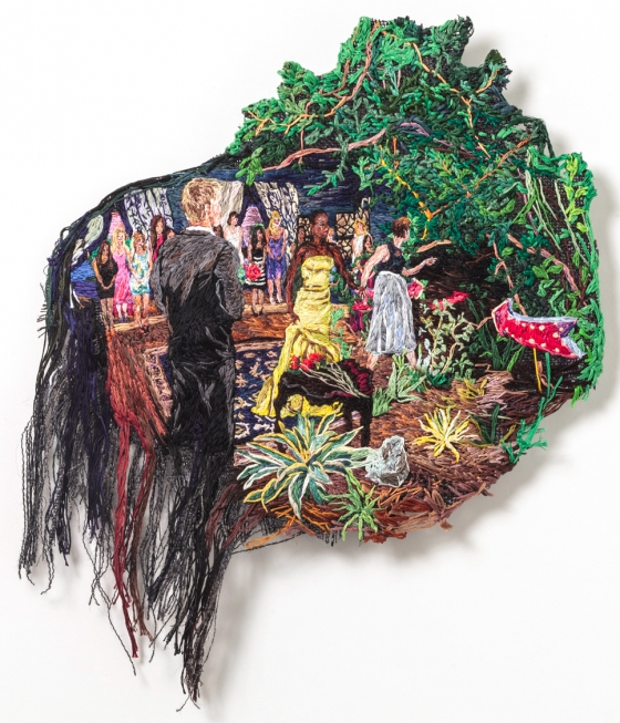 Sophia Narrett Voted New American Paintings Reader's Choice Artist of 2015