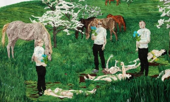 Sophia Narrett is Artist-in-Residence at Lux Art Institute