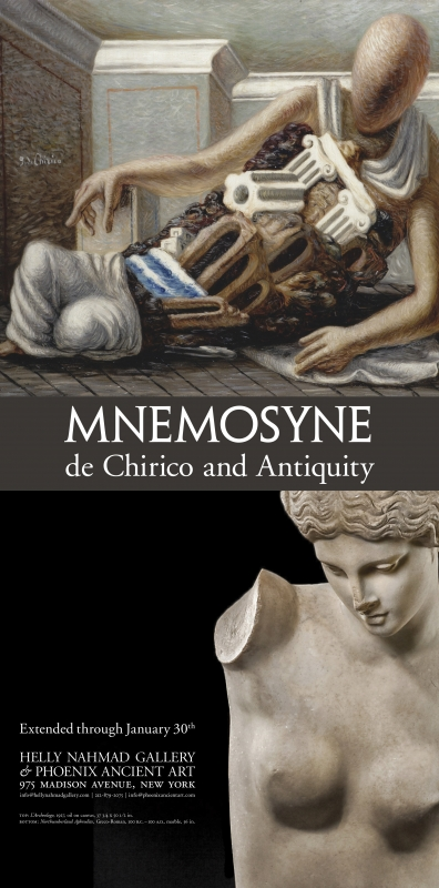 Mnemosyne: de Chirico and Antiquity