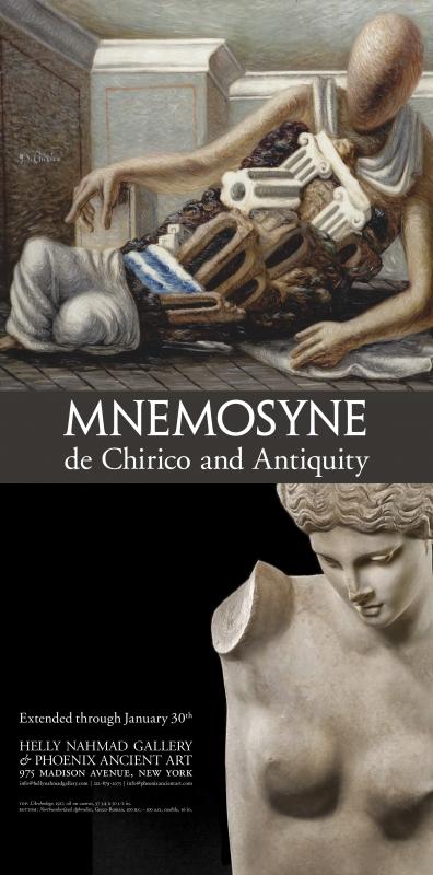 Mnemosyne: de Chirico and Antiquity