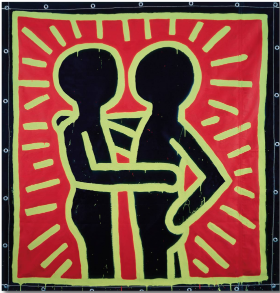 Keith Haring. The Alphabet