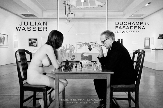 SAVE THE DATE: JUNE 11th, 2015  JULIAN WASSER: DUCHAMP IN PASADENA REVISITED…