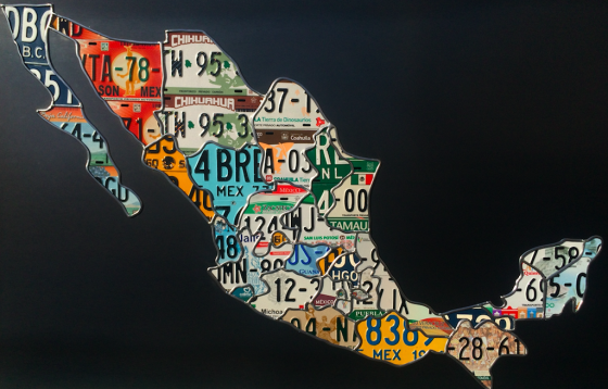 31 States of Mexico Newest piece by Scott Hanson