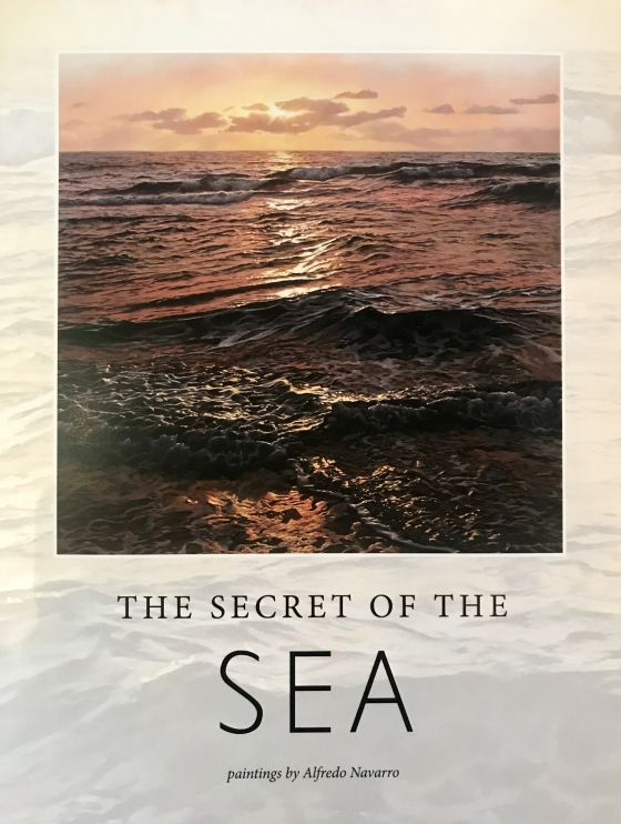 Alfredo Navarro Secret of the Sea book release with Exhibition