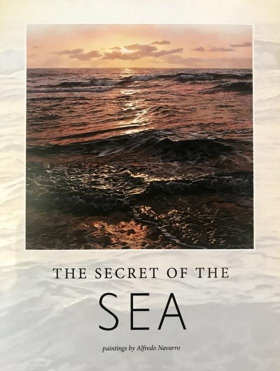 Alfredo Navarro Secret of the Sea book release with Exhibition