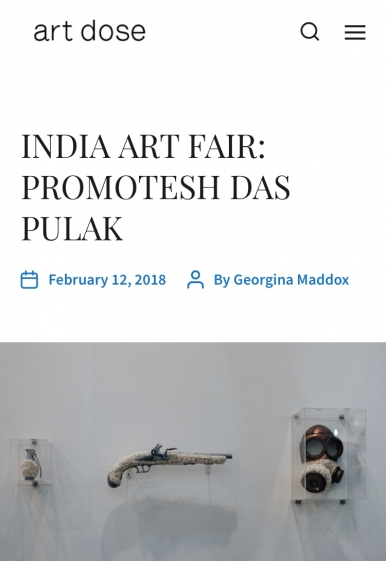 India Art Fair : Promotesh Das Pulak
