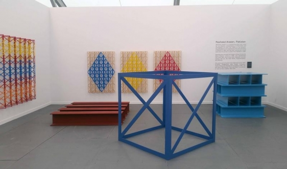Installation View 1 Aicon Gallery Booth A21 Frieze NY Spotlight