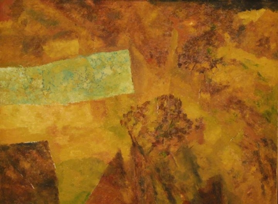 Ram Kumar UNTITLED ABSTRACT 8 2007 Oil on canvas 36 x 48 in.