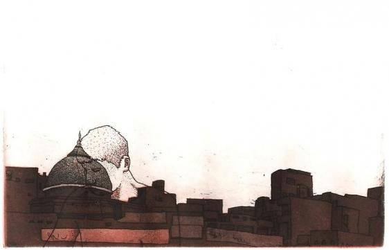 Damon Kowarsky NILA GOMBIT 2008 12.5 x 20 cm.
