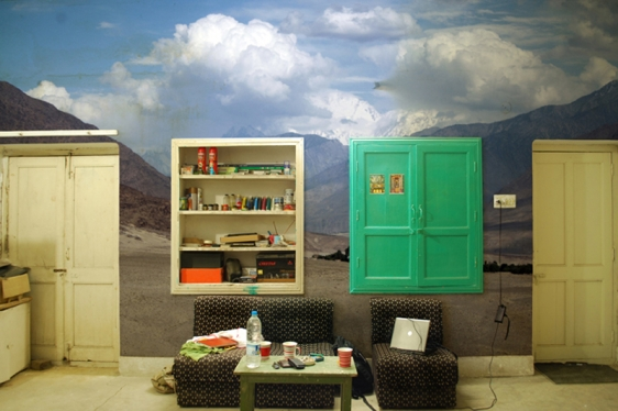 Iqra Tanveer Reality Scape for Web 2011 Ink-jet print on cotton rag 24 x 36 in.
