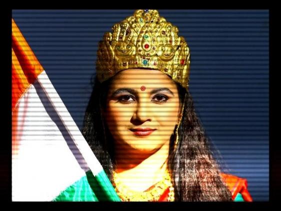 Vidya Kamat BREAKING NEWS: MAKING NATION 2011 Single channel DVD 5:00 min.