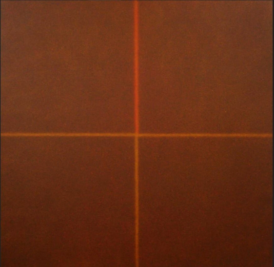 Shobha Broota Untitled - 3 2011 Oil and acrylic on canvas  36 x 36 in.