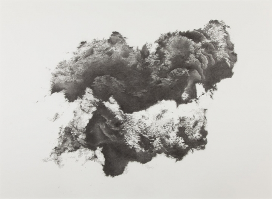 Saad Qureshi SMOULDER 2013 Pencil and charcoal on paper 58 x 76.5 in.