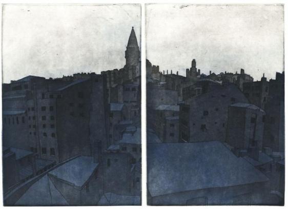 Damon Kowarsky ISTANBUL II 2011 22.5 X 48 cm.