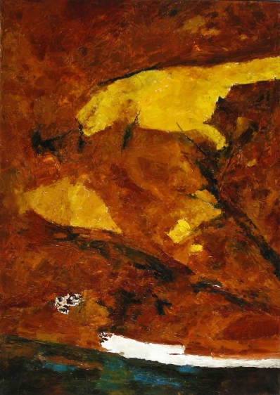 Ram Kumar UNTITLED ABSTRACT 2 2005 Oil on canvas 36 x 24 in.