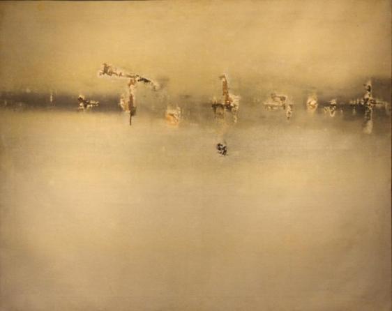 Vasudeo Gaitonde PAINTING NO. 3 1962 Oil on canvas 40 x 50 in.