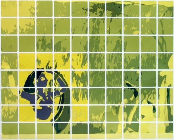 Hasnat Mahmood POP ART 1 2009 Digital print on paper, Edition of 3 28.25 x 23.25 in.