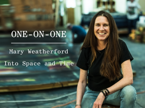 One-on-One: Mary Weatherford
