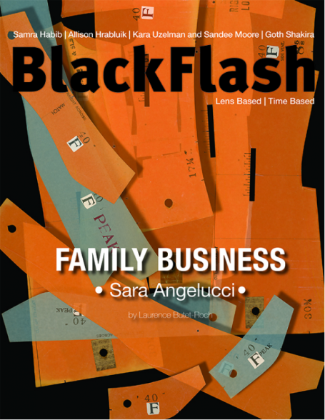 SARA ANGELUCCI DANS BLACKFLASH MAGAZINE