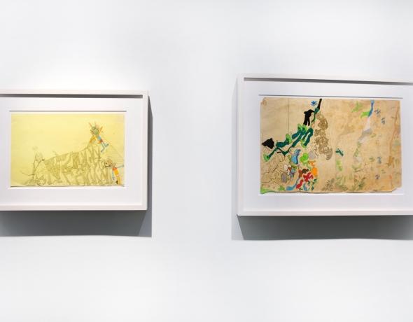 Susan Te Kahurangi King: Drawings from Many Worlds